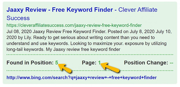 Jaaxy review - Free keyword finder