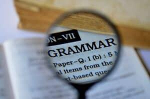 learning grammar